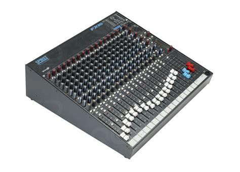 Mixer Soundcraft Fx 16 qed productions equipment soundcraft fx 16