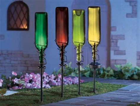 15 Terrific Diy Glass Bottle Yard Decor That Will Impress Diy Garden Decor Ideas
