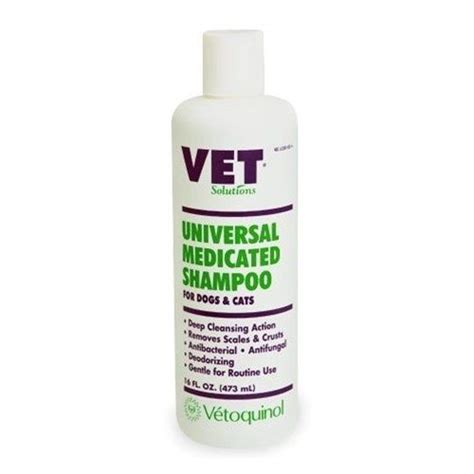 antifungal shoo for dogs vet solutions medicated shoo is cleansing shoo removes scales and crusts
