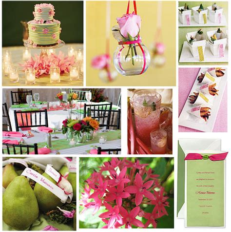 pink and green baby or bridal shower theme images containe flickr