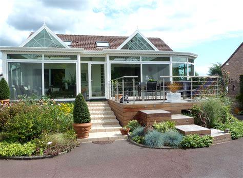 veranda 40 m2 extension bois de 40 m2 224 montigny en ostrevent