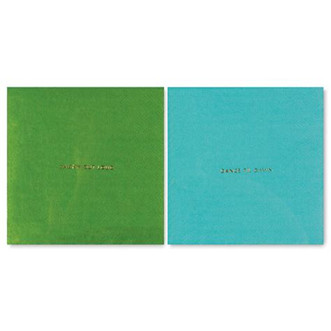 kate spade table l kate spade paper napkins blue green who brunch