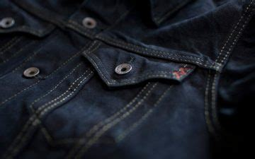 Unknown S Trucker Jacket Indigo 1 heddels quality information on quality clothing and goods