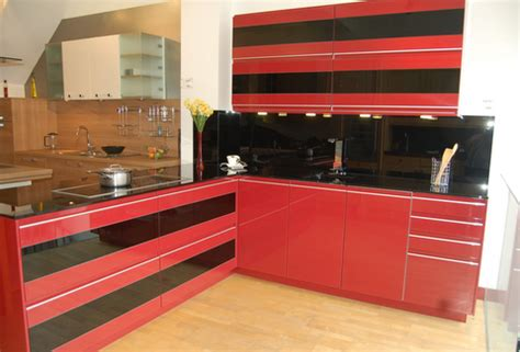 ex display kitchen sink unit ex display rational sigma and black hi gloss kitchen