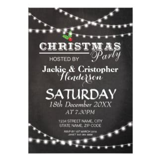 christmas party announcement for work work cards invitations zazzle au