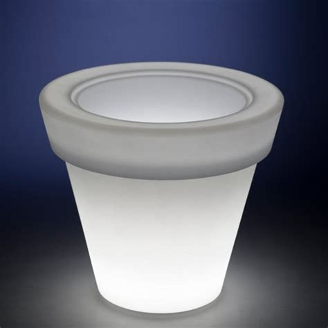 outdoor glow in the patio planters gadgets