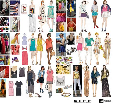 latest trends in europe ciff fashion trends ss2012 technicolor summer fashion