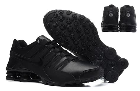 all black tennis shoes for s nike shox current all black leather tennis shoe