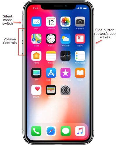 apple iphone xs xs max restart soft reset frozen