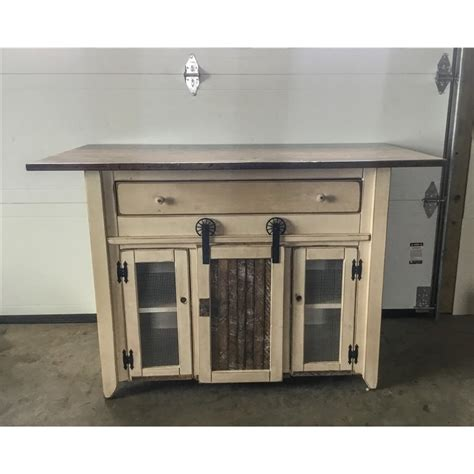 primitive kitchen island in counter height set 2 sizes