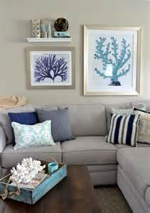 coastal style living rooms decorating with sea corals 34 stylish ideas digsdigs