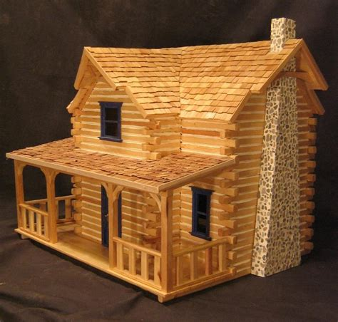 log cabin doll house logcabin