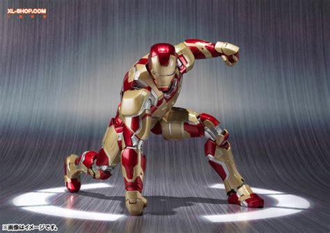Bandai Shf Iron 3 Iron Patriot bandai s h figuarts iron 3 iron xlii