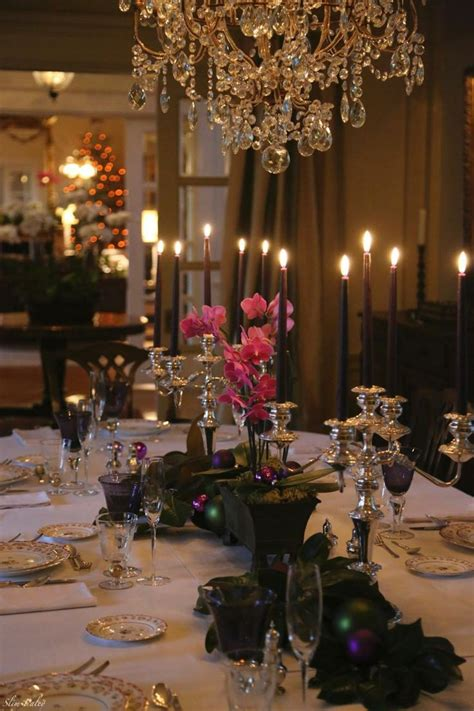 elegant dinner tables pics 50 stunning christmas tablescapes style estate