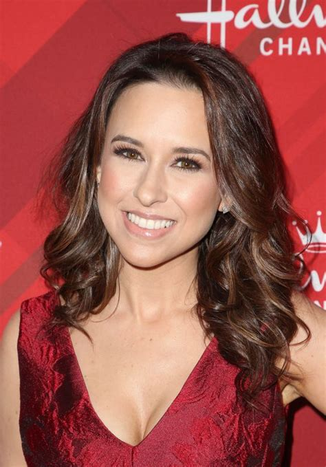 lacey chabert quot christmas at holly lodge quot screening in