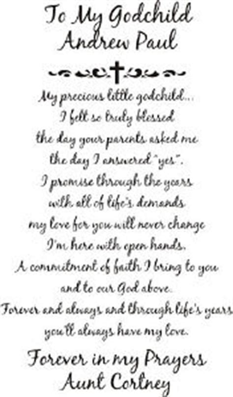 Confirmation Letter From Godparent Godchildren Quotes Quotesgram