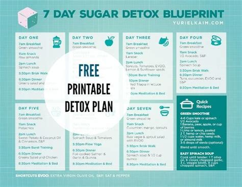 Detox Diät Plan 7 Tage by Sugar Detox Plan Sugar Detox And Detox Plan On