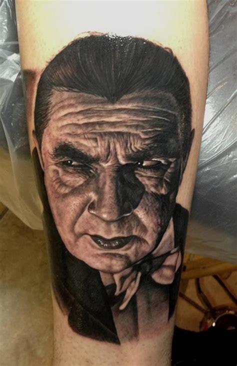 dracula tattoo bela lugosi dracula by steve wimmer tattoonow