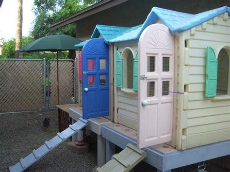 plastic  wood coop backyard chickens