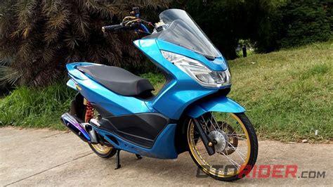 Pcx 2018 Thailook by Modifikasi Honda Pcx 150 2016 Rp 20 Juta Buat Thailook