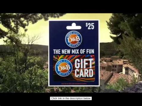 Where To Buy A Dave And Busters Gift Card - buy dave busters gift card online youtube