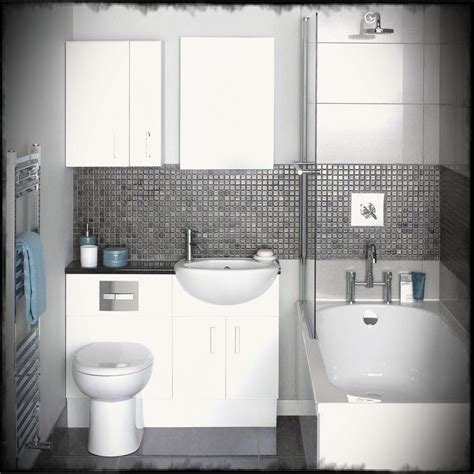 modern bathroom ideas with white bathtup also black