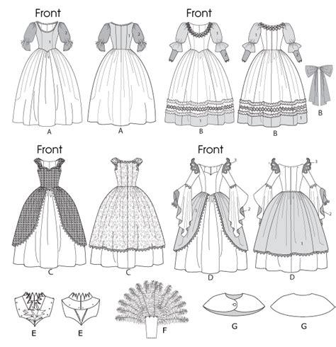 Free Online Upholstery Classes Mccall S 6629 Misses Children S Girls Costumes