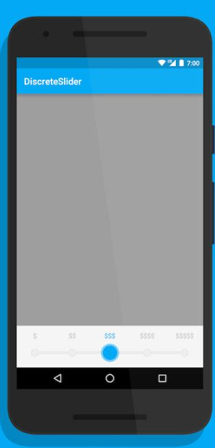 android xml layout canvas android how to set drawable points and thumb on a