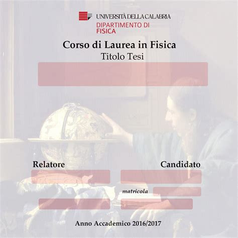 Calendario Sedute Di Laurea Unical by Dip Fisica Modulistica