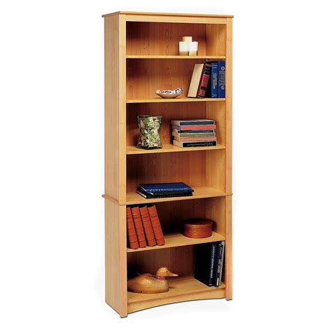 prepac sonoma 6 shelf bookcase bookcases at hayneedle