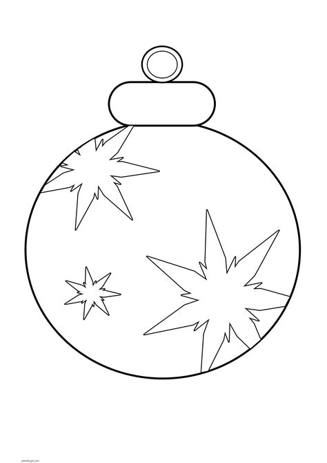 imagenes para pintar navidad para niños dibujos de adornos navide 241 os para colorear