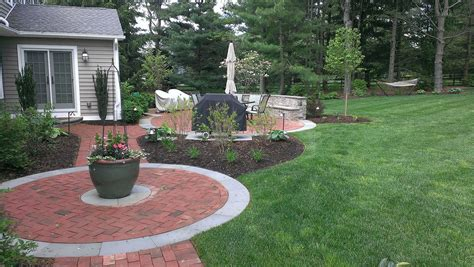 remodel backyard types of brick patio designs to make your garden more