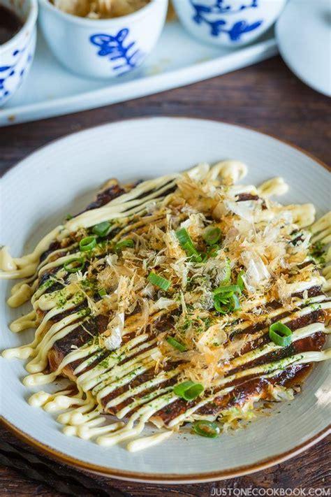 printable japanese recipes okonomiyaki recipe お好み焼き just one cookbook
