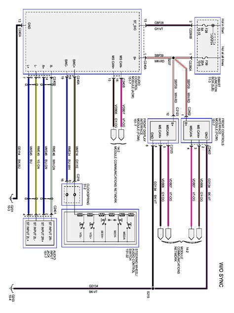 uk ford focus wiring diagram wiring diagram with description