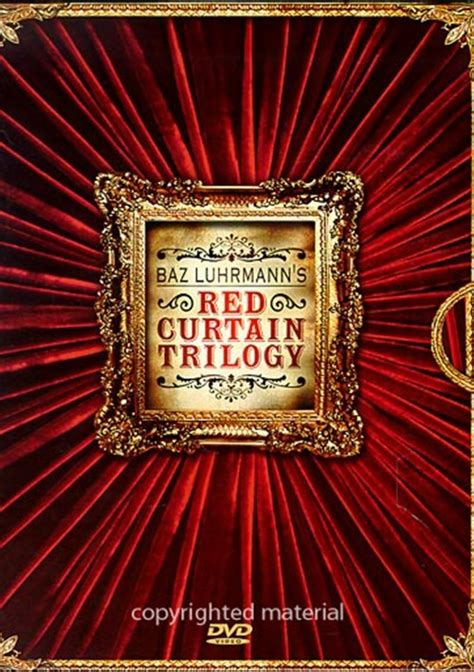 the red curtain trilogy red curtain trilogy box set the baz luhrmann dvd 1992