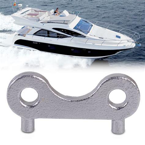 boat deck key new stainless steel boat marine tank deck fill plate key