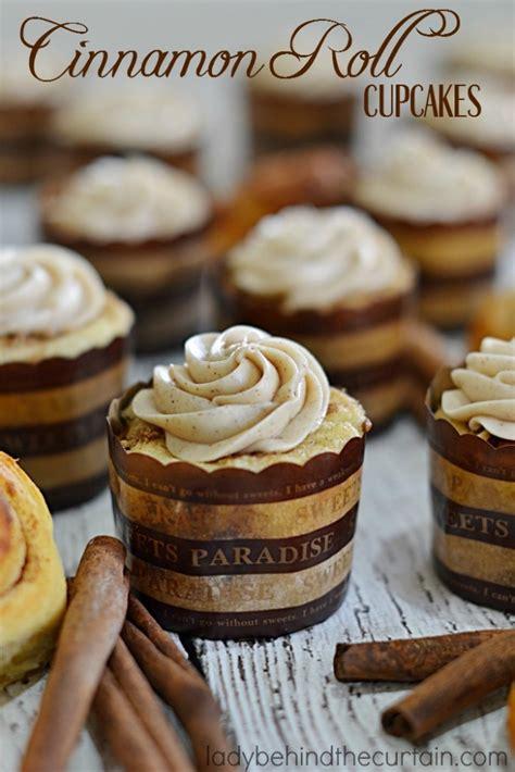 Cupcake Cinnamon cinnamon roll cupcakes