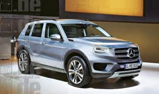 mercedes glb baby g class 7 seater here in 2019