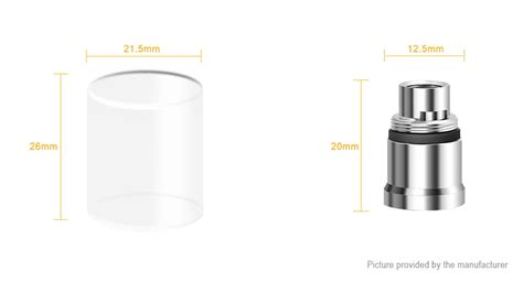 Authentic Aspire Nautilus Reguler And Mini Hollow Replacement Tank 1 3 78 authentic aspire nautilus x clearomizer replacement glass tank at fasttech worldwide