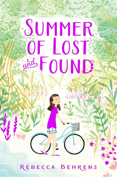 summer of the books summer of lost and found book by behrens