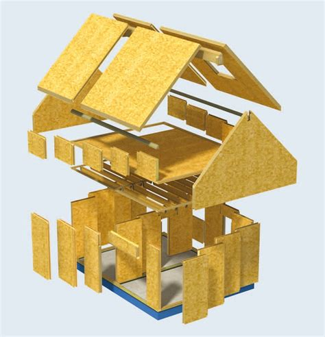 Structural Insulated Panel Home Kits by Oak Frame And Sips Sip Envelopes Sips Panels