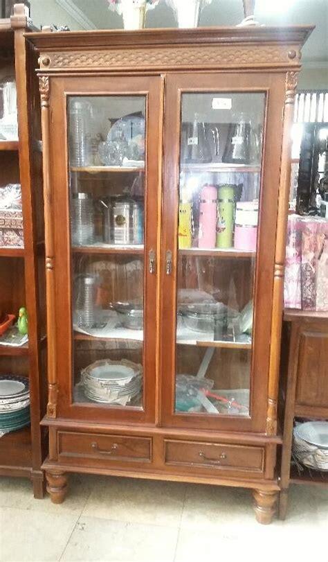 Lemari Kayu Bekasi jual lemari pakaian jawa 2 pintu harga murah bekasi oleh garage sale kemang