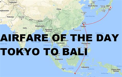 airfare of the day china airlines tokyo to bali business class 1001 trip loyaltylobby