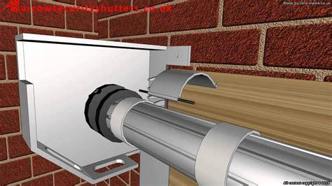 An electric operated garage roller shutter door (garage