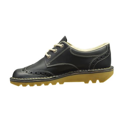 kickers kickers kick lo brogue leather blue n3 1 12359
