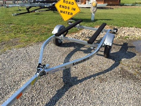 used boat trailers in ohio galvanized 16 ft boat trailer by load rite akron ohio