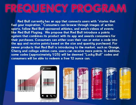 Red Bull Sweepstakes - red bull case study imc plan