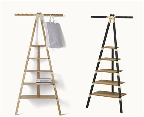 leaning shelf bookcase ikea triangular leaning wall shelf by keiji ashizawa for ikea