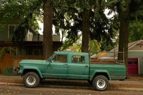 jeep gladiator 4 door old parked cars 1965 willys jeep gladiator j300 quot custom