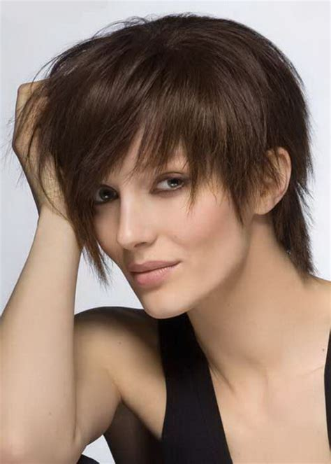 picture of short hair cuts for women with turkey neck cool short haircuts for girls